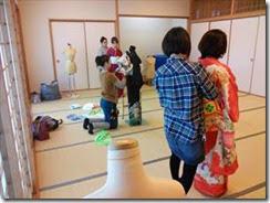 着付けスタッフ練習会 (2)