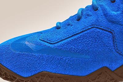 nike lebron 11 nsw sportswear ext blue suede 5 05 Nike LeBron XI EXT Blue Suede Drops on April 10th for $200