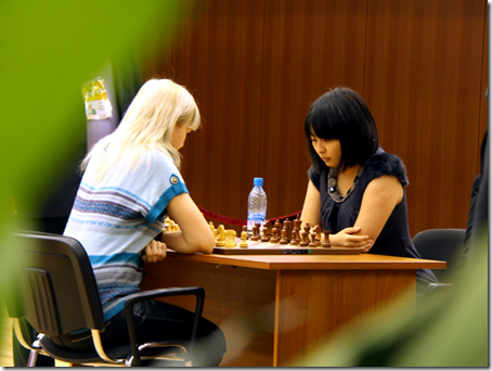 Ushenina Anna, Ukraine vs Ju Wenjun, China