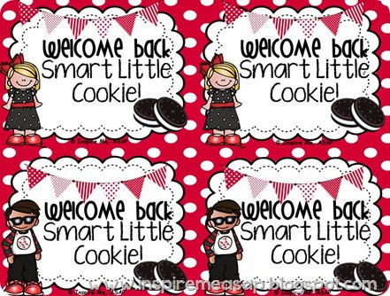 "Check out this website for an adorable ""Welcome back to school, smart little cookies!"" FREEBIE printable!"