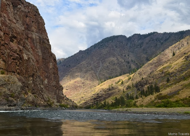 On the Wild and Scenic Snake River in Hells Canyon