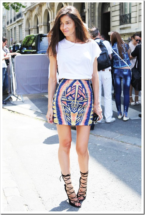 la-modella-mafia-Style-Icon-2012-Barbara-Martelo-fashion-editor-of-Vogue-Spain-street-style-in-Balmain-tribal-mini-skirt