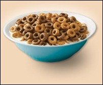 Chocolate Cheerios bowl