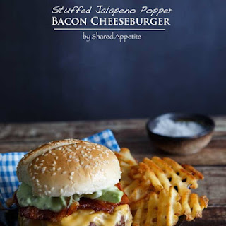 Stuffed Jalapeno Popper Bacon Cheeseburger
