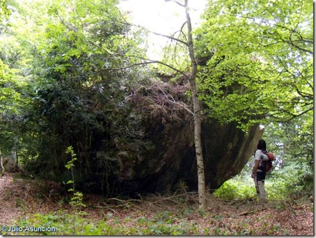 Asiento del Basajaun - Elke - Valle de Arce