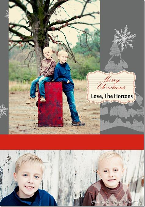 Christmas card Idea Back copy