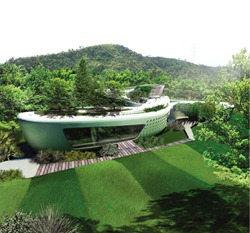 vegetation house