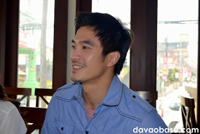 Diether Ocampo talks to us over lunch at The Swiss Deli Restaurant