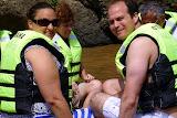 Relaxing On The Bili-Bili or Bamboo Raft - Suva, Fiji