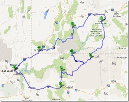 Nevada-Utah trip
