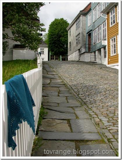 Gamle Bergen (og litt sjal)
