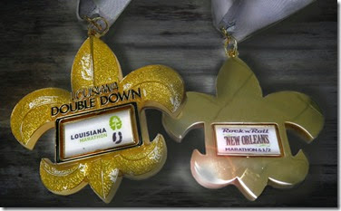 Louisiana Double Down Medal