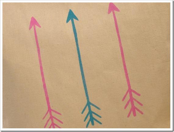 arrow stencil 5