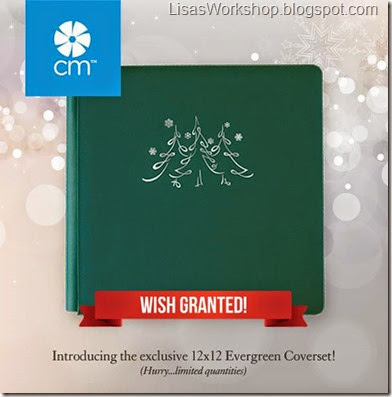 Exclusive evergreen 12x12 CM album