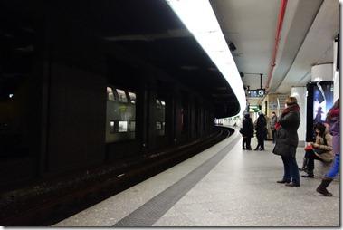 ブリュッセル中央駅は地下のみ
