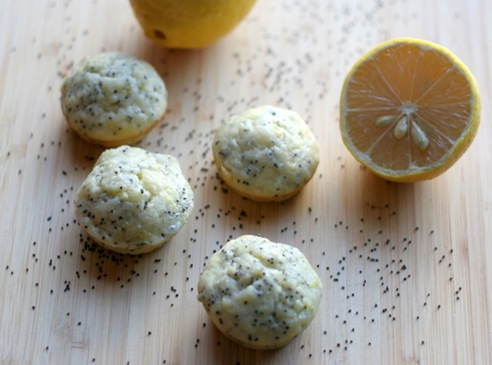 lemon poppy seed muffins 1