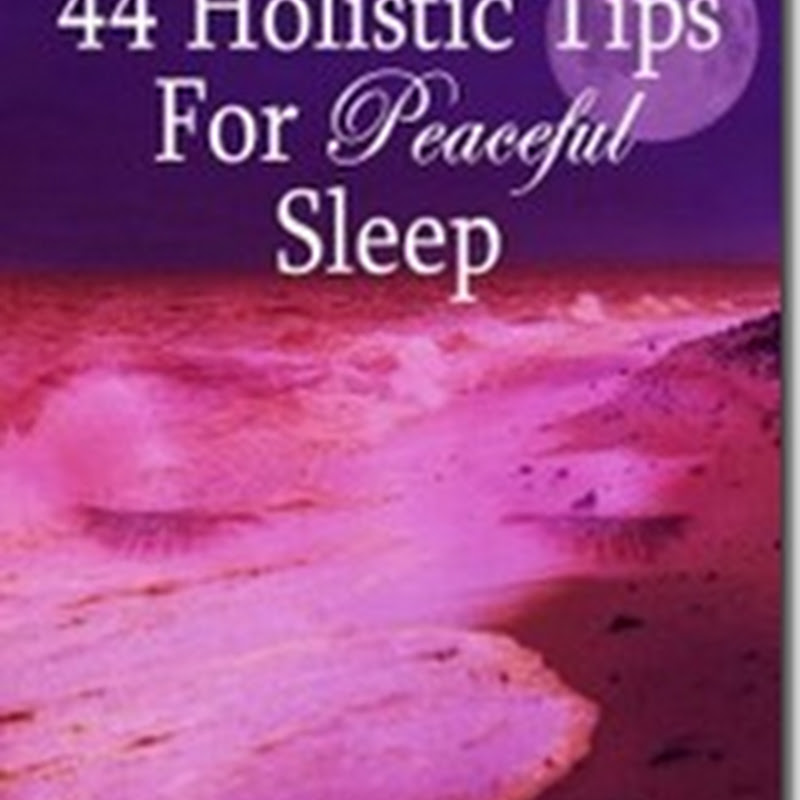 Orangeberry Book of the Day – 44 Holistic Tips For Peaceful Sleep by Keri Nola