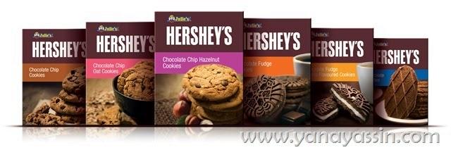 Hersheys Julie's Cookies Sedap