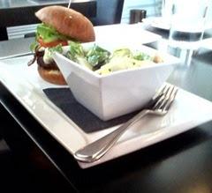 BLT Burger Ceasar Salad