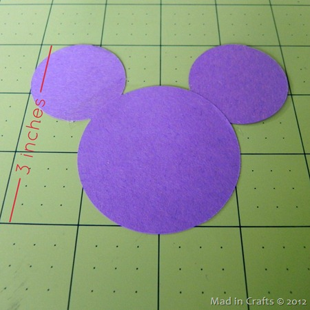 How To Make A Perfect Mickey Silhouette Without A Die