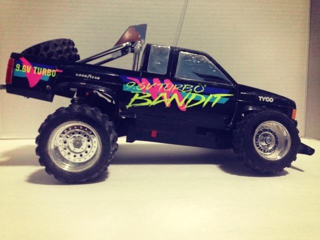 Bandit Remote Control Car Side