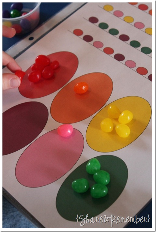 Jelly Bean Preschool Activities