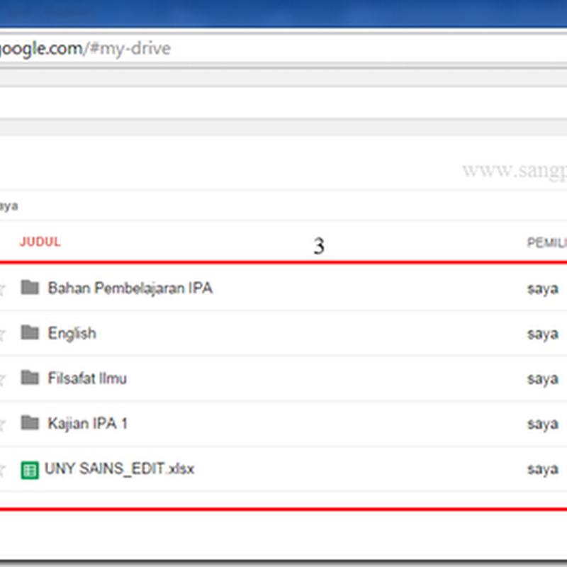 Membuat dan Mengupload File di Google Drive (Tutorial1)