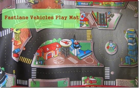 fastlane vehicles play mat