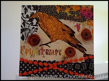 Altered Halloween Canvas (6)