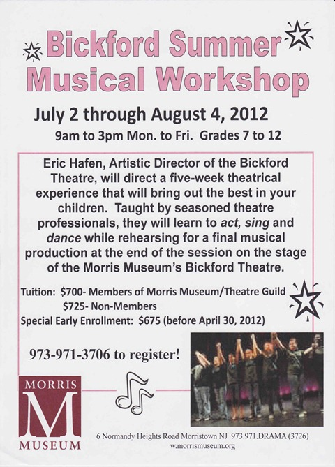bickford summer workshop