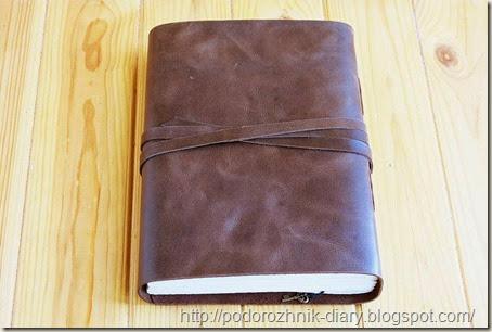 Винтажный кожаный блокнот-4