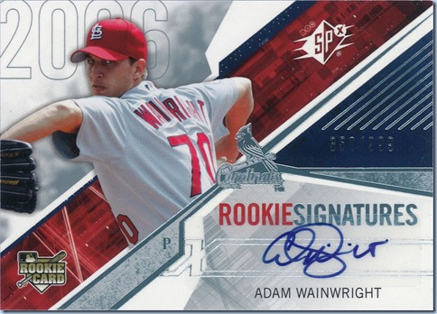 2006 SPX Wainwright Auto 350 of 999
