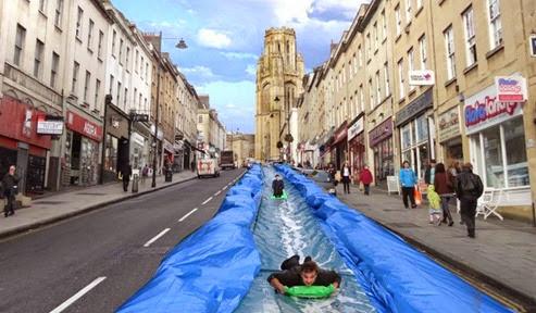 Bristol Watrer Slide