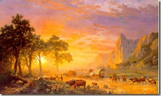 Albert Bierstadt painting