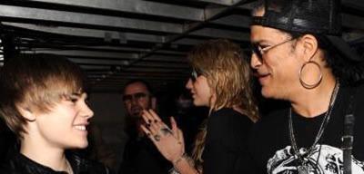 Bieber e Slash