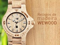 Relógios de madeira WeWood nas principais lojas FARM de SP e RJ.