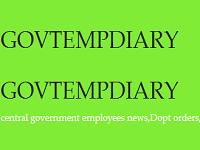 Govtempdiary