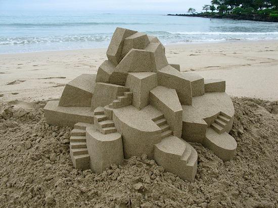 Castelos de areia geometricos (6)