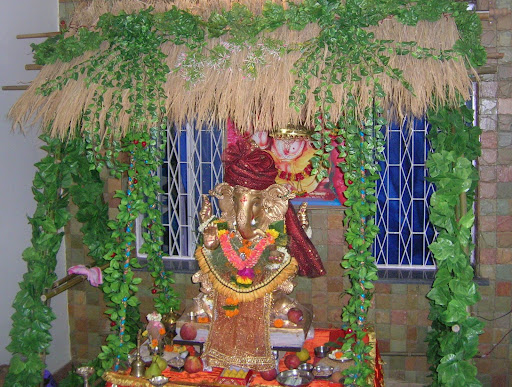 Ganpati+decoration+photos