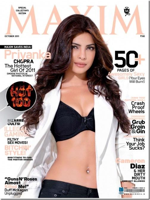 Priyanka Chopra Maxim