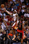 lebron james nba 130123 mia vs tor 02 Boston Outlasts Miami in 2nd OT. LeBron Debuts Suede X PE!