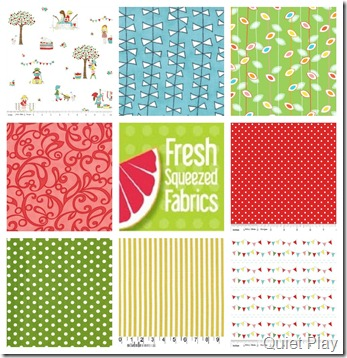 Child's Play fabric bundle