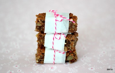 Oaty Banana Nut Bar Stack