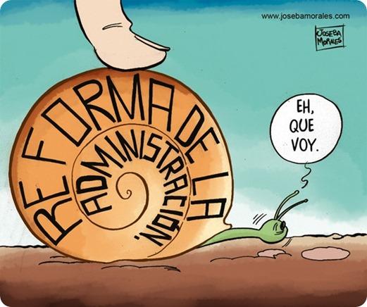 reforma administración