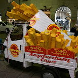 amsterdam chips in milan in Milan, Milano, Italy