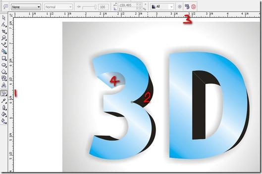 best stuff corner corel draw 3d text tutorial. Black Bedroom Furniture Sets. Home Design Ideas