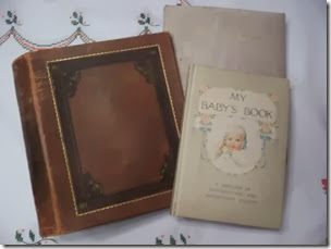 Dee Grimsrud found her grandmother's scrapbook and her uncle's baby book