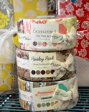 New Jelly Rolls at The Fabric Mill