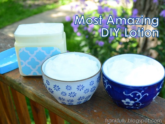 Most Amazing DIY Lotion