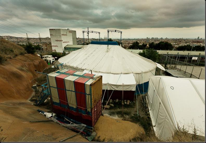 The school of circus of Barcelona